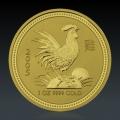 1 Oz Lunar 1 Hahn 2005 Gold