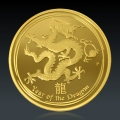 1 Oz Lunar 2 Drache PP 2012 Gold