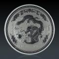 1 kg Lunar 1 Drache 2000 Silber