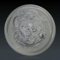 1 Oz Lunar 2 Drache 2012 Silber