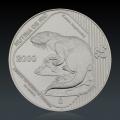1 Oz Bedrohte Tierart Nutria De Rio 2000 Silber