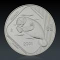 1 Oz Bedrohte Tierart Manati 2001 Silber