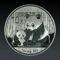 1 Oz China Panda 2012 Silber