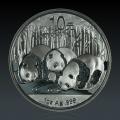 1 Oz China Panda 2013 Silber