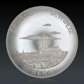 4 x Schöne Schweiz Silbermedaillen
