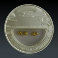 1 Oz Treasures of Australia Goldnuggets 2010 Silber